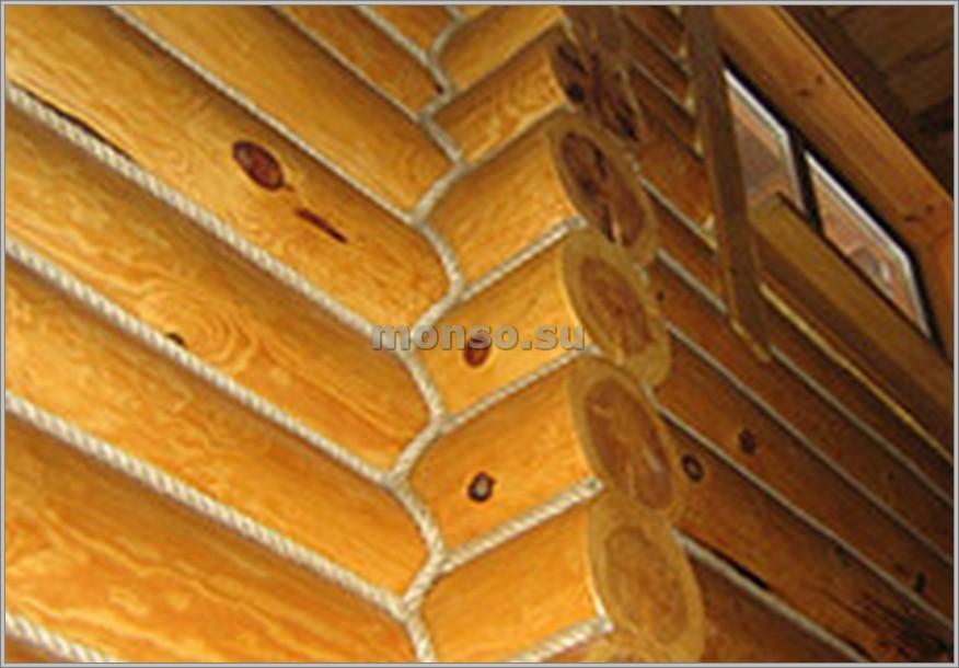 конопатка бревенчатого дома своими руками